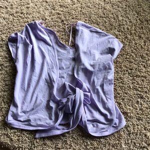 Lululemon it's a tie T-shirt!